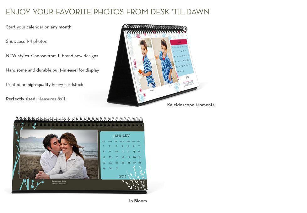 Enjoy Your Favorite Photos From Desk 'Til Dawn
