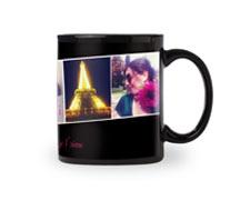 11oz Black Photo Mug